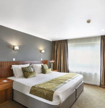 Club hotel bedroom