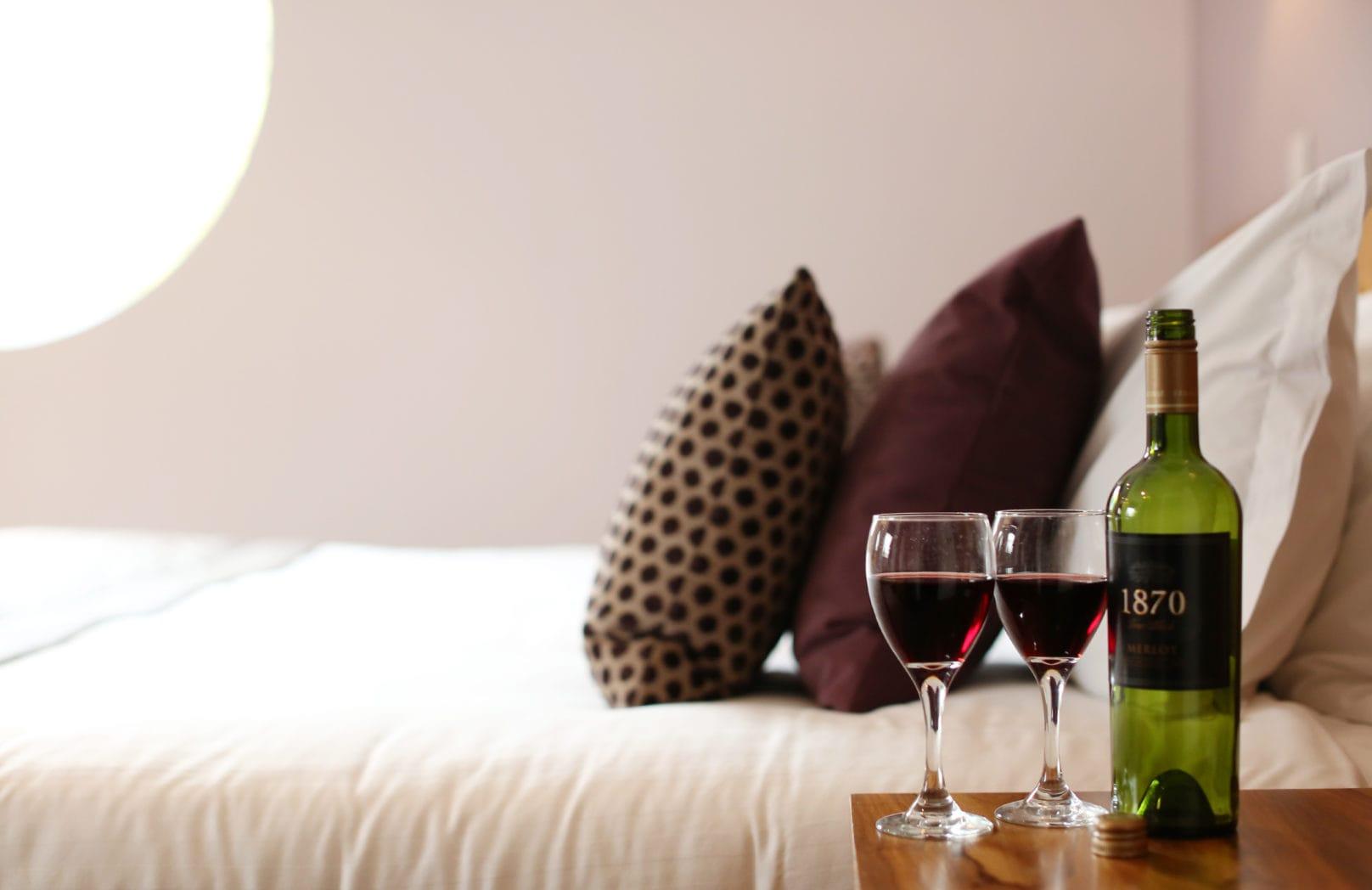 Executive Single Hotel bedroom