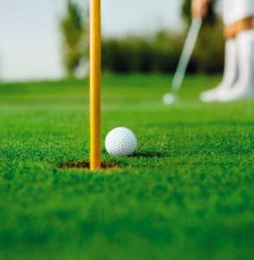 Golf ball Stoke by Nayland