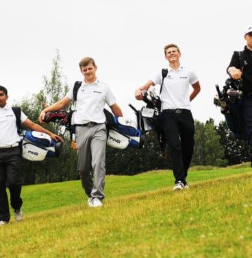 Golf coaching for juniors in Essex