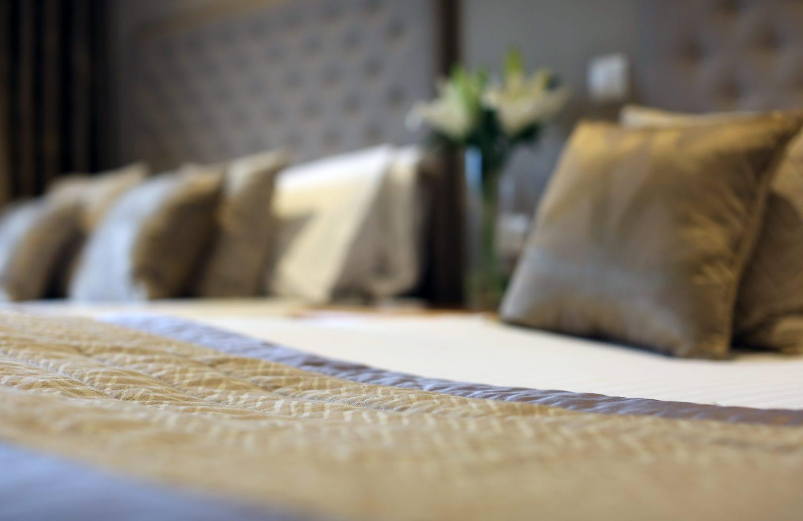 Hotel bedroom Stoke by Nayland