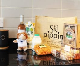 Welcome hamper - Stoke by Nayland lodges