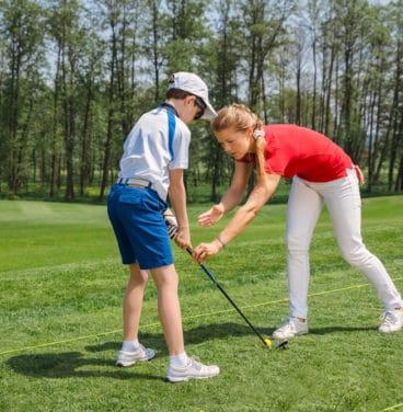 Junior golf coaching Essex