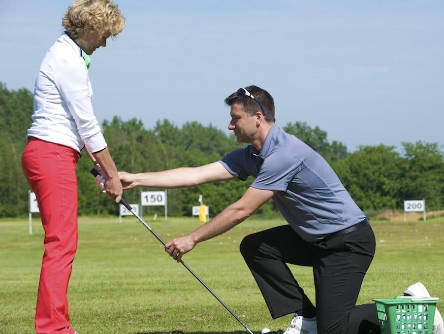 Golf - Ladies golf coaching