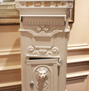 Weddings - card postbox
