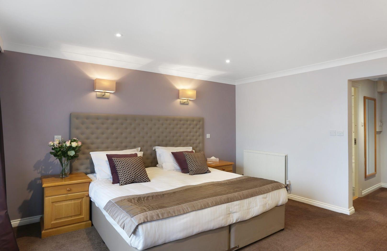 Golf Deluxe Double hotel bedroom