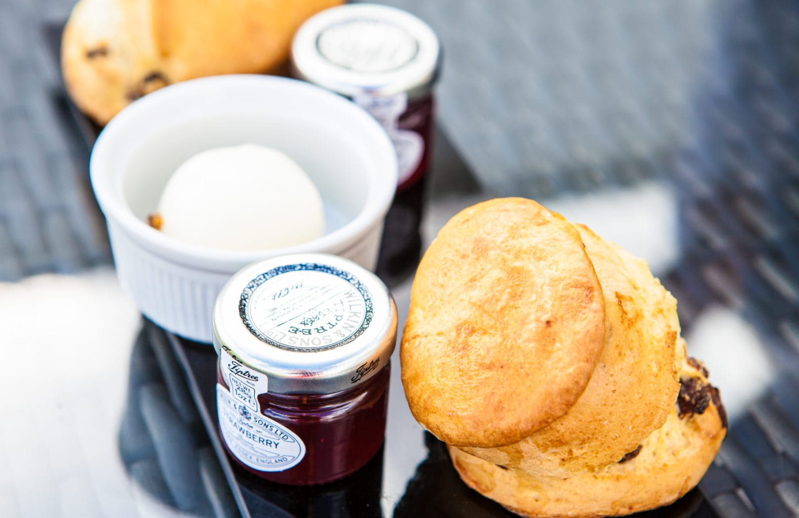 Afternoon Tea Scones and Jam