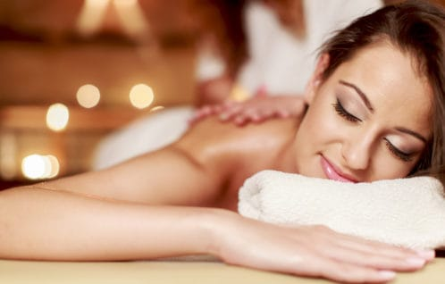 Body Massage Spa - woman relaxed