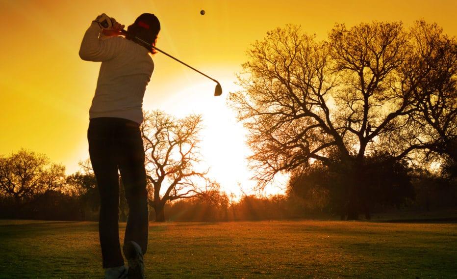 Golf Day Winter