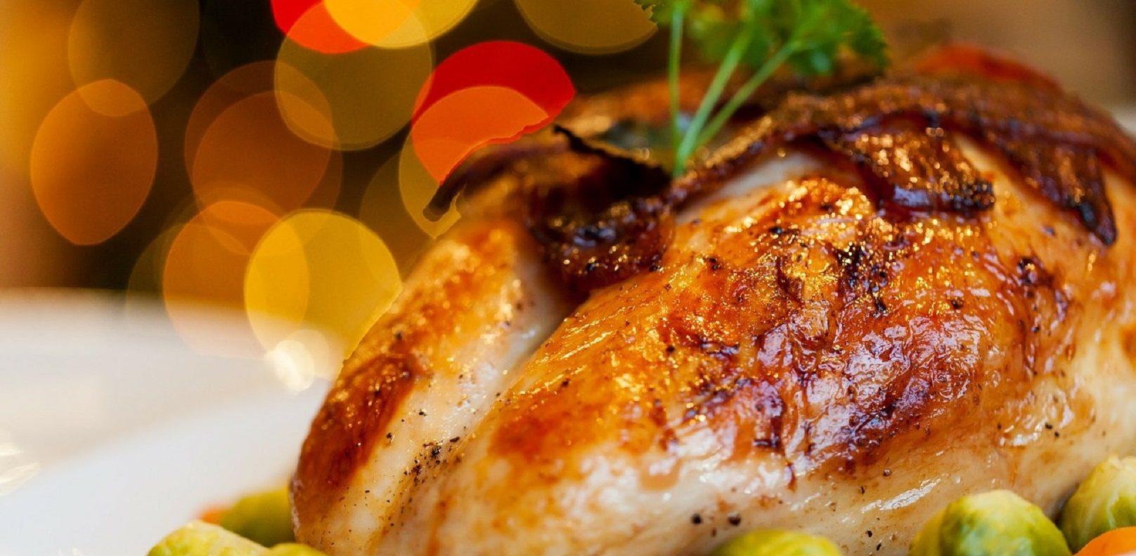 Christmas turkey festive dinner