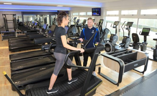 Personal training at Peake Fitness