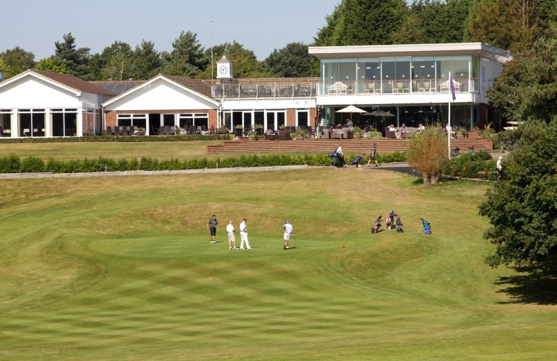 View across 18th Hole - Constable Golf Course