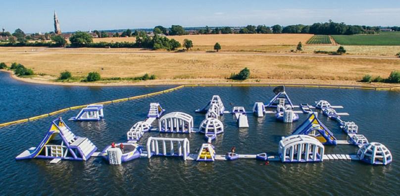 Alton waters aqua park