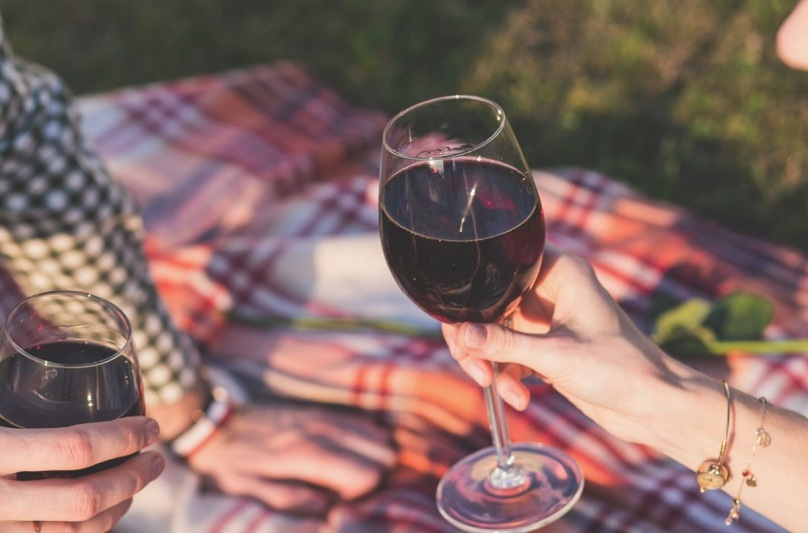 Summer picnic in Suffolk