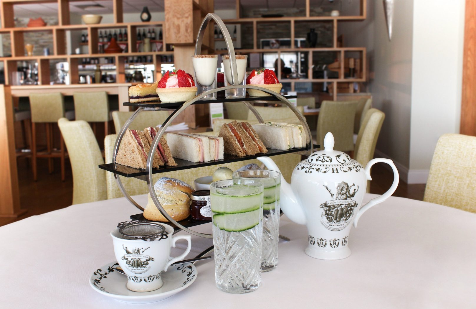 G&T afternoon tea - Stoke by Nayland