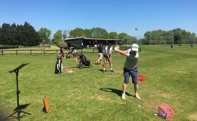 James Andrews Golf School Practice