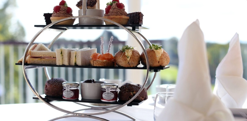 Afternoon Tea In The Gallery Restaurant