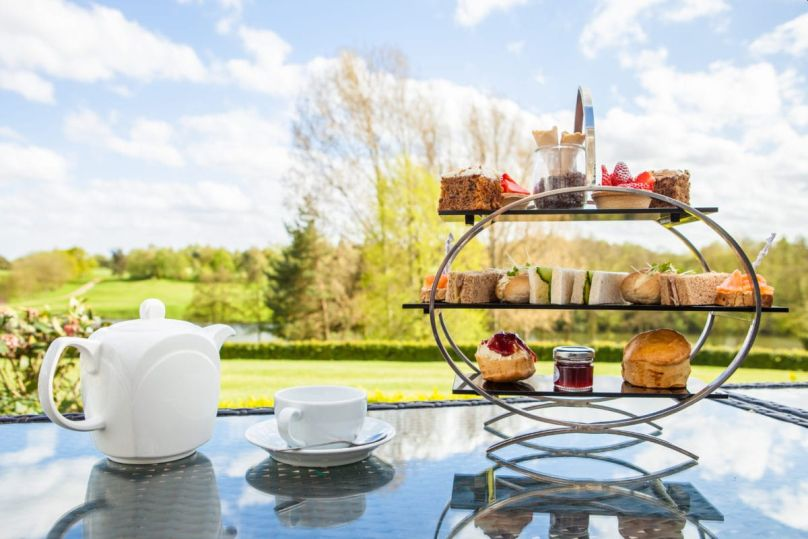 Afternoon tea - Stoke by Nayland