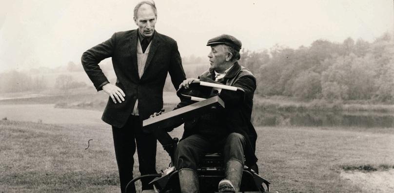 Bill Peake and Lol Tricker 1970