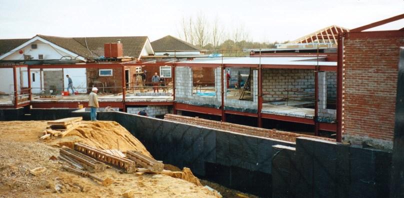 Hotel construction 1999