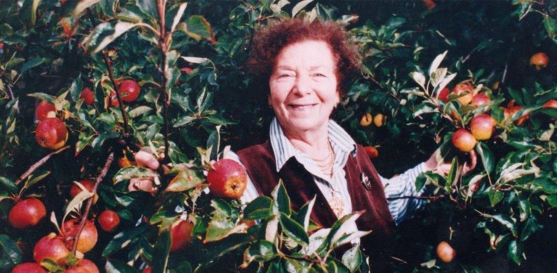 Devora among the apples 1990
