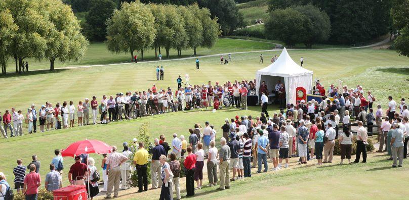 PGA Seniors at the Gainsborough Course