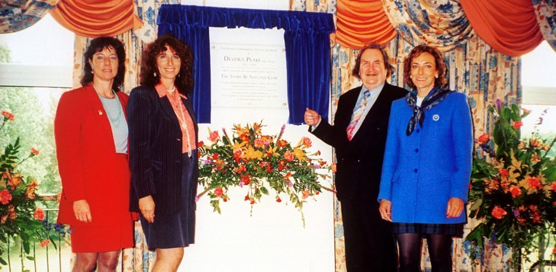 Conference centre opening 1999
