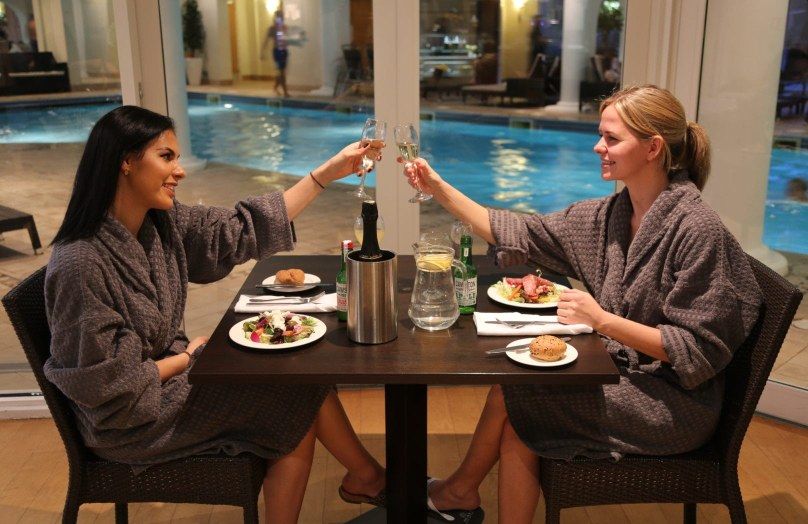 Ladies spa lunch for two