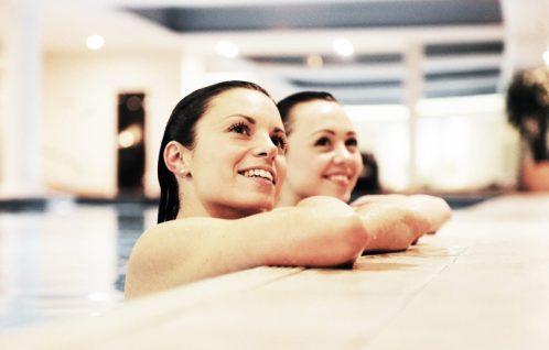 Spa swimming pool at Stoke by Nayland