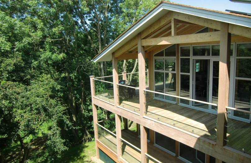Stoke by Nayland lodges