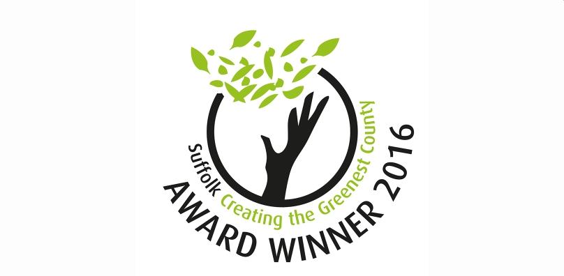 Suffolk Greenest County award 2016