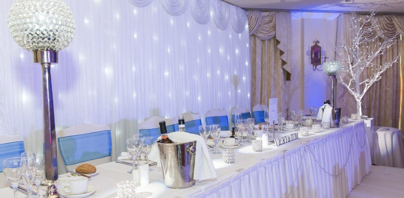 Starlight backdrop for weddings - Stoke by Nayland