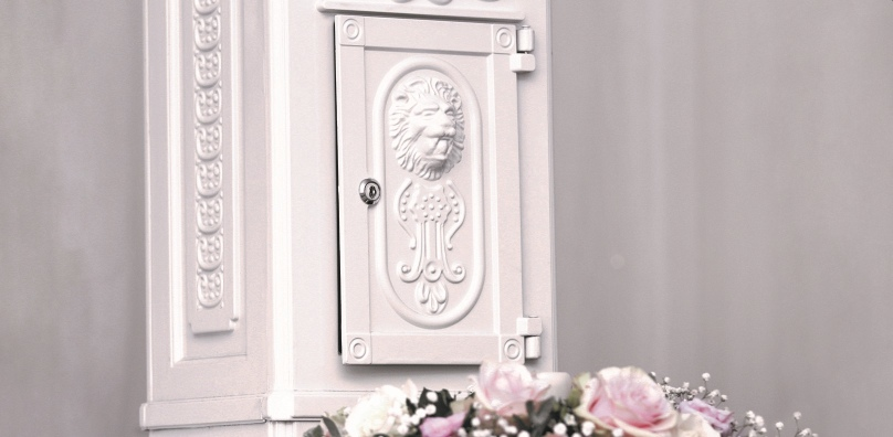 Wedding card letterbox - Stoke by Nayland