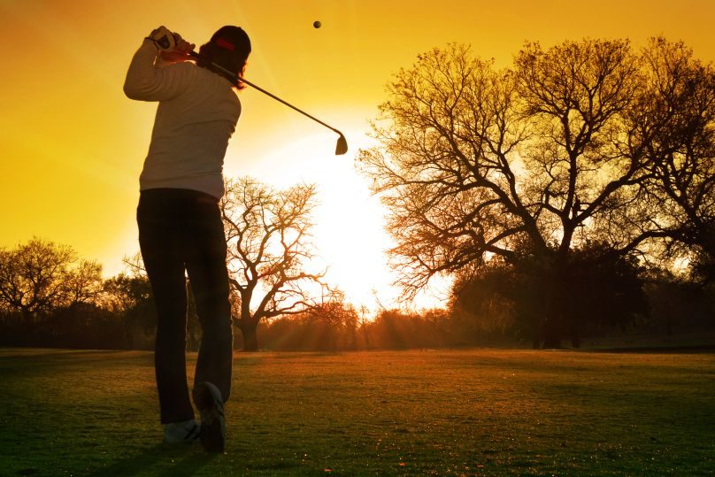 Winter Golf at Stoke by Nayland
