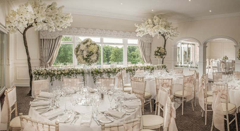 Luxury hotel wedding venue