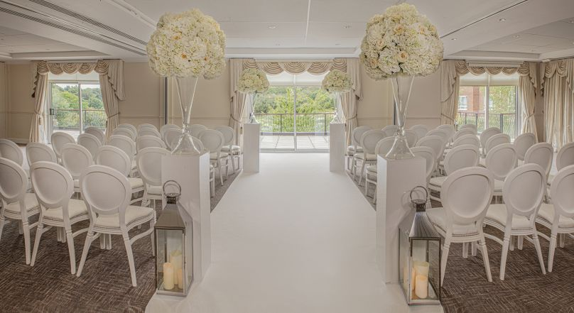 Wedding suites at Stoke by Nayland hotel