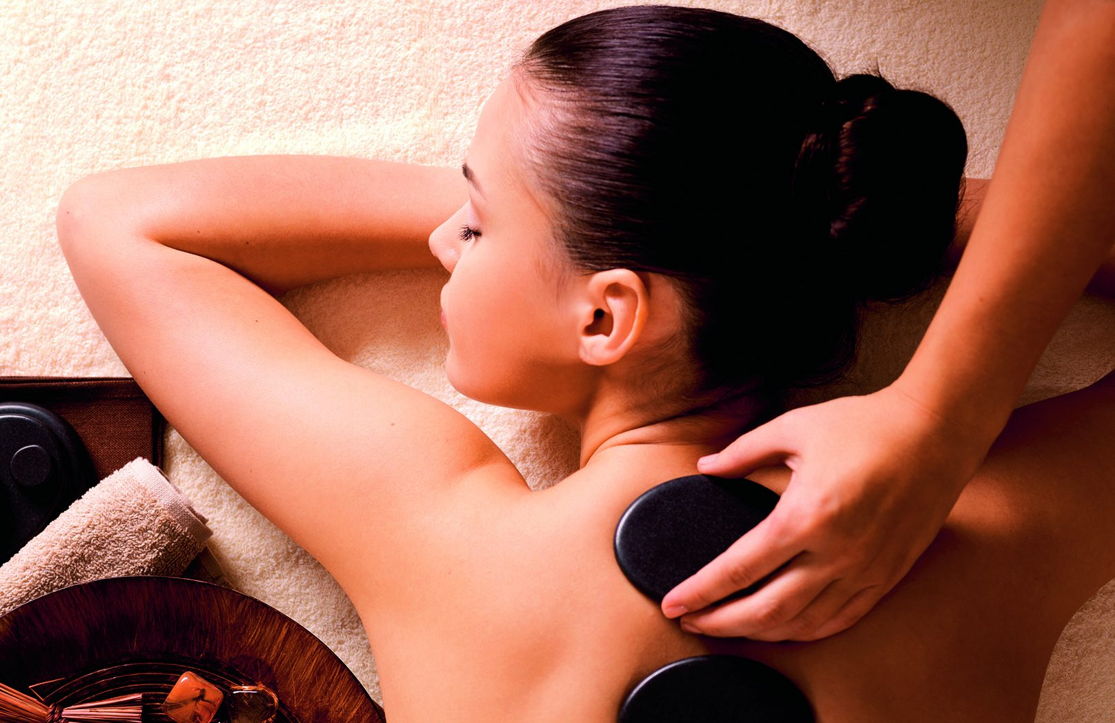 Hot Stone Massage at Peake Spa