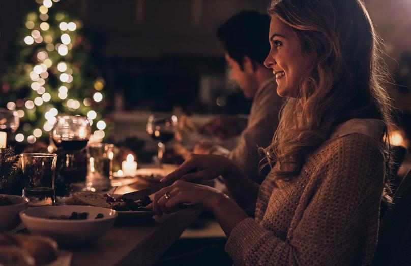 Winter Wonderland festive dining