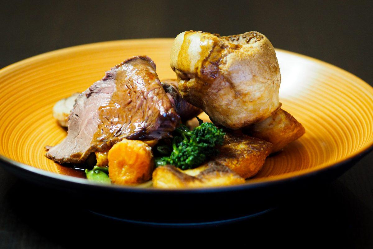Roast Dinner at Stoke by Nayland hotel