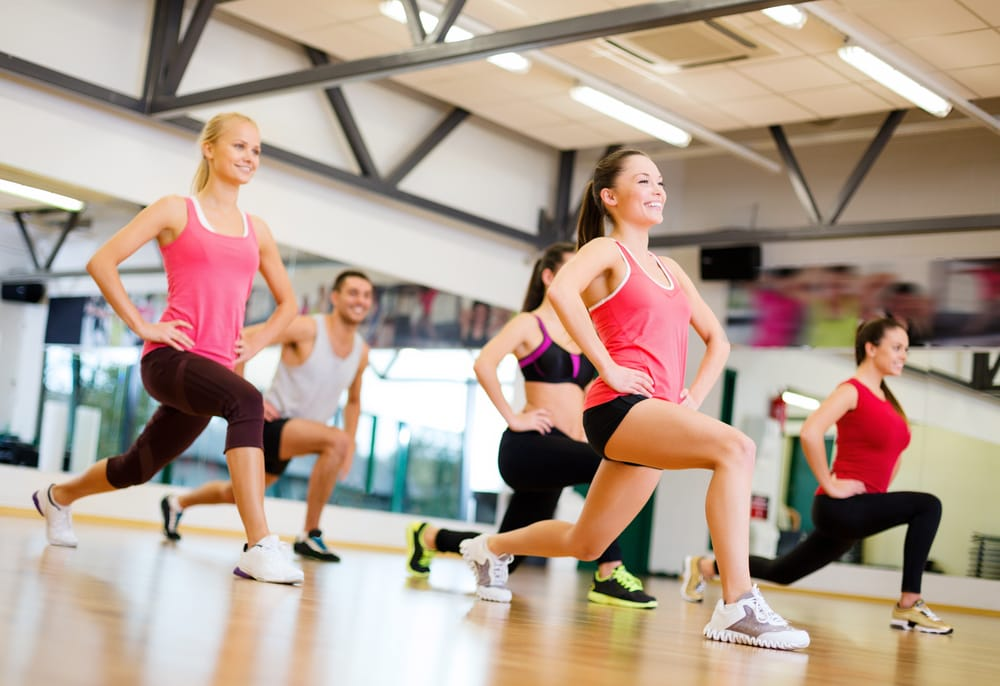 Group Fitness exercise class
