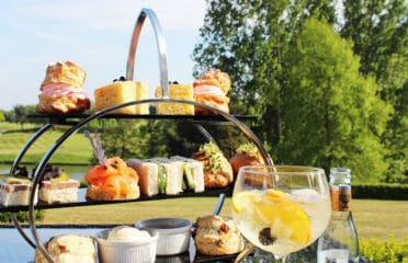 Afternoon tea at Stoke by Nayland